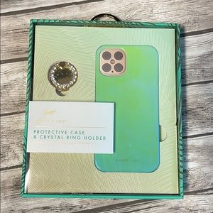 Dabney Lee Green IPhone 12 Pro Case & Ring Holder